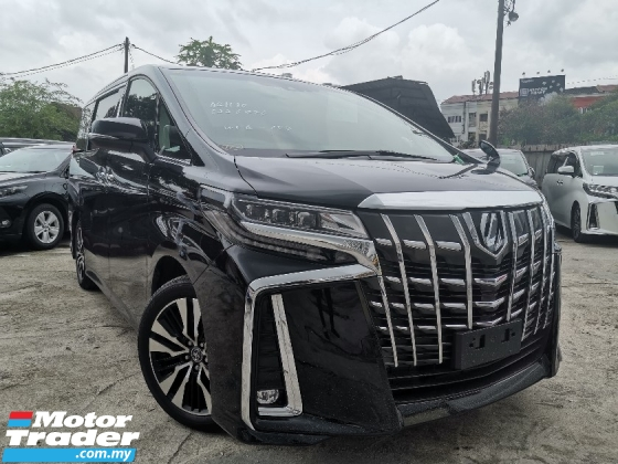 2018 TOYOTA ALPHARD 2.5 SC SUNROOF/FULL LEATHER/PRE CRASH UNREG