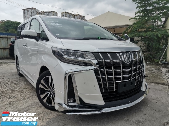 2018 TOYOTA ALPHARD 2.5 G SC FULL MODELISTA BODYKIT/SUNROOF/3 EYE/FULL LEATHER/PRE CRASH UNREG