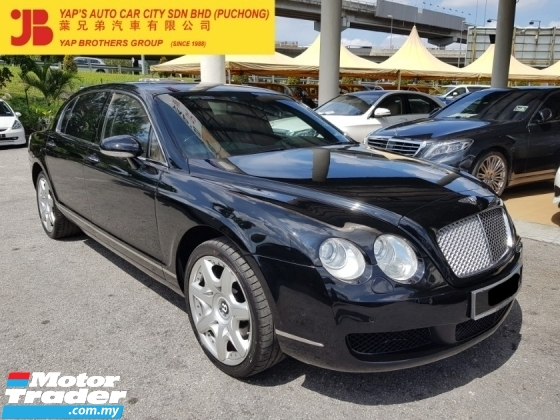 2008 BENTLEY CONTINENTAL FLYING SPUR MULLINER 6.0