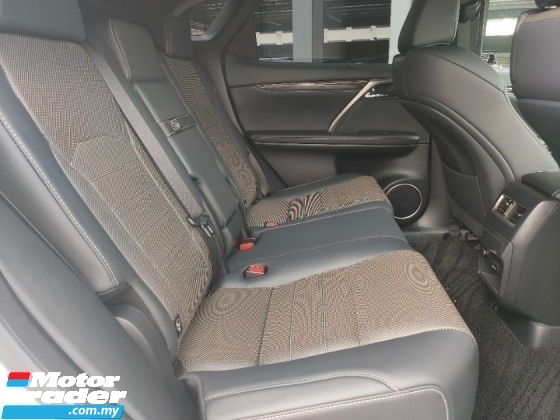 2017 LEXUS RX 2017 Lexus RX200T F Sport 4 Camera 306 View Pre Crash LKA HUD BSM Power Boot Unregister for sale