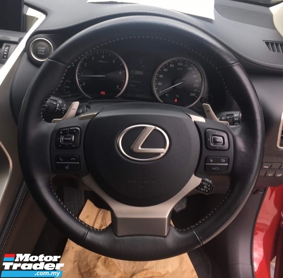 2015 LEXUS NX 200T NX200t NX200 2.0 TURBO (UNREG) CHEAPEST IN TOWN