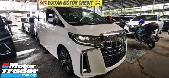 2018 TOYOTA ALPHARD 2.5 SC 3 LED.UNREG.FULLSPEC.INCLUDED SST.TRUE YEAR CAN PROVE.SUNROOF.PILOT SEAT.LEATHER.PRE CRASH.360 SURROUND CAMERA.3 POWER DRS N BOOT.WOOD STEERING N ETC.FREE WARRANTY N MANY GIFTS