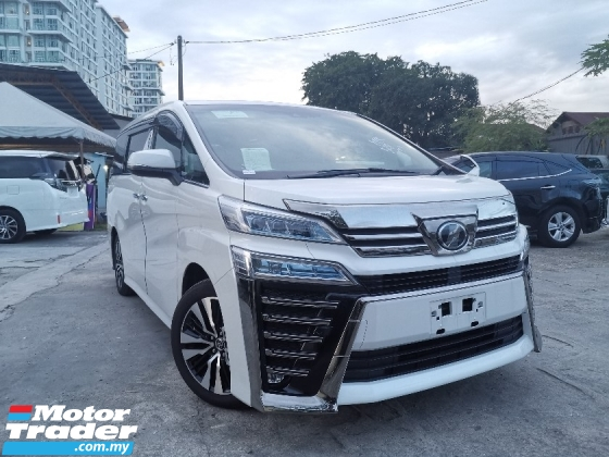 2018 TOYOTA VELLFIRE 2.5 ZG SUNROOF/FULL LEATHER/PRE CRASH UNREG