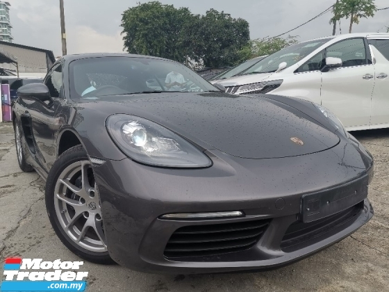 2017 PORSCHE CAYMAN 718 2.0 Coupe FACELIFT UK SPEC UNREG