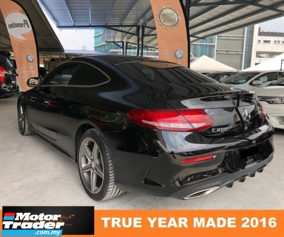 2016 MERCEDES-BENZ C-CLASS C200 COUPE 2.0 (A) AMG CBU LOCAL CNY PROMOTION