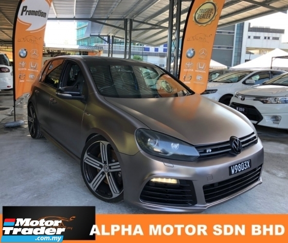 2012 VOLKSWAGEN GOLF R 2.0 (A) STAGE 1 TUNED CNY PROMOTION