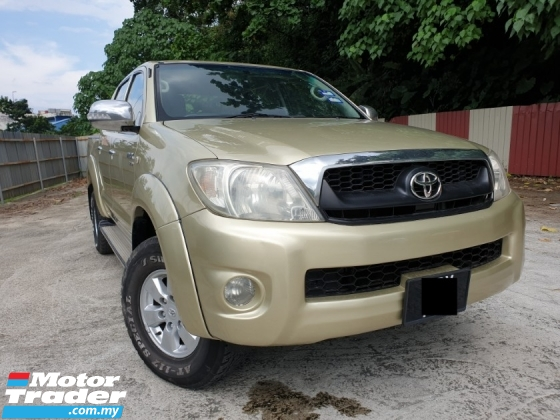 2008 TOYOTA HILUX DOUBLE CAB 2.5G (AT) WELL MAINTAIN NICE CONDITION