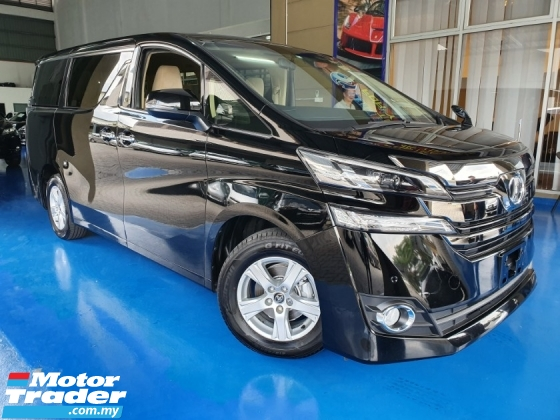 2017 TOYOTA VELLFIRE 2.5X *TAX INCLUDED*