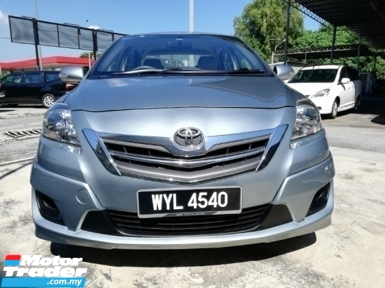 2013 TOYOTA VIOS 1.5G LIMITED (AT) LEATHER SEAT 1-OWNER FACELIFT