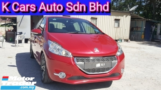 2013 PEUGEOT 208 1.6 VTI ALLURE 5 Door (Actual Year) Keep Like New Car Condition Full Service History By Peugeot Original Paint Never Accident Before Worth Buy