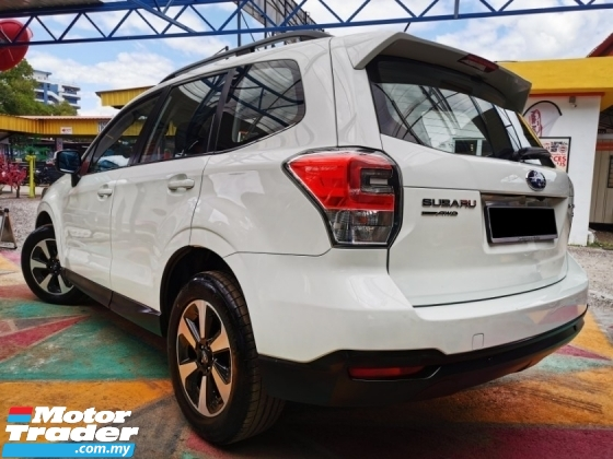 2016 SUBARU FORESTER Subaru FORESTER 2.0i FACELIFT (A) LEATHER WARRANTY