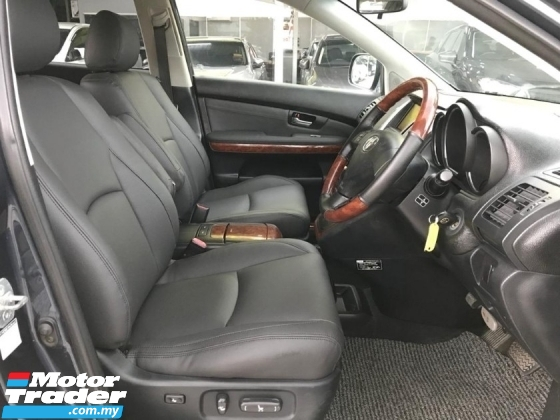 2005 TOYOTA HARRIER 3.0G PREMIUM L PACKAGE POWER BOOT WITH LEATHER
