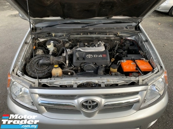 2008 TOYOTA HILUX DOUBLE CAB 2.5 G (AT) 1 OWNER - PERFECT LIKE NEW