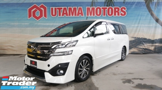 2016 TOYOTA VELLFIRE 3.5 EXECUTIVE LOUNGE JBL SUNROOF PRE CRASH CNY SALE SPECIAL