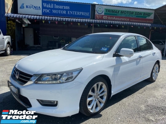 2014 HONDA ACCORD 2.4 VTI-L FULL SPEC PUSH START TIPTOP LIKE NEW