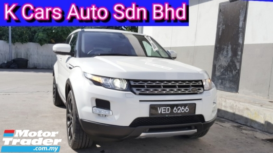 2013 LAND ROVER RANGE ROVER EVOQUE 2.0 Si4  (CBU NEW) (Actual Year) Low Mileage Car Keep In Good Condition Zero Accident Worth Buy