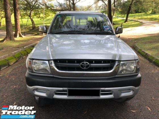2005 TOYOTA HILUX DOUBLE CAB 2.5 (AT) SR TURBO GOOD CONDITION