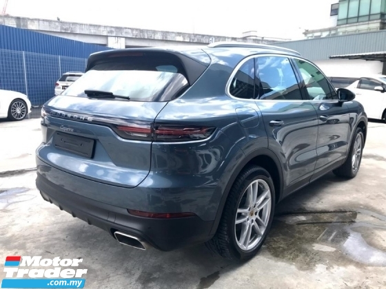 2018 PORSCHE CAYENNE 3.0 V6 FACELIFT DEMO CAR MILEAGE UNREGISTERED
