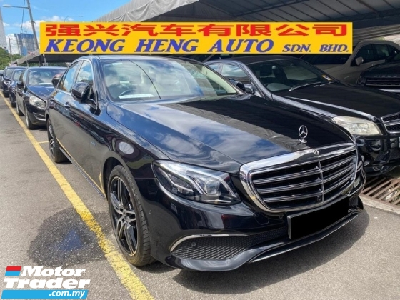 2017 MERCEDES-BENZ E-CLASS E350e Exclusive CKD Registered 2018 13K KM FS UW2024