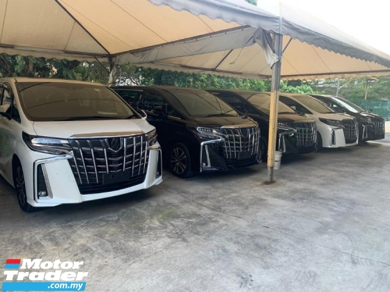 2018 TOYOTA ALPHARD 2.5SC New Facelift 3LED Sequential Turn Signal Surround Camera Full Leather Pilot Seat SST Inclusive Loan Available