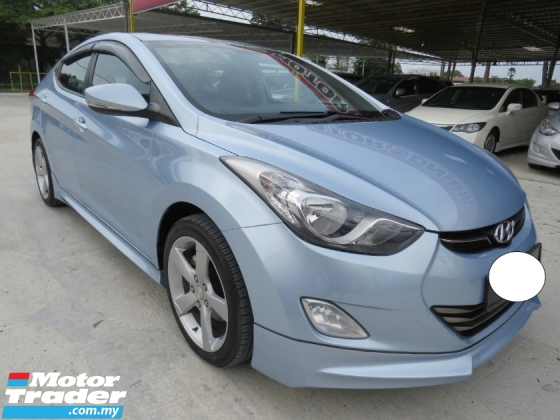 2014 HYUNDAI ELANTRA 1.8 (A) GLS One Lady Owner Full Sport Bodykit Leather Seat Sunroof Keyless Push Start Accident Free High Loan Tip Top Condition Must View