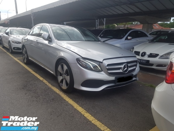 2016 MERCEDES-BENZ E-CLASS E250 REG 2017 (A) LIKE NEW