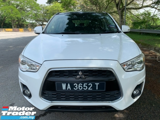 2015 MITSUBISHI ASX 2.0L (A) 4WD Full Service Record 1 Lady Owner Only TipTop Condition View to Confirm