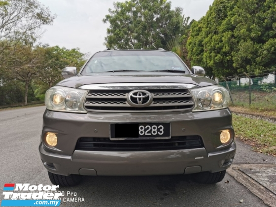 2009 TOYOTA FORTUNER 2.7V TRD SPORTIVO (A) - SUPERB CONDITION LIKE NEW FEEL