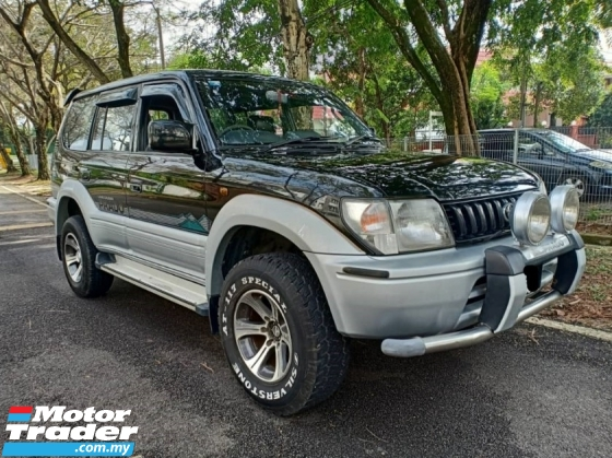 1998 TOYOTA PRADO 2.7 (M) GX 4X4 **8 SEATER SUV CAR KING, WELL MAINTAINED, NO REPAIR NEEDED**