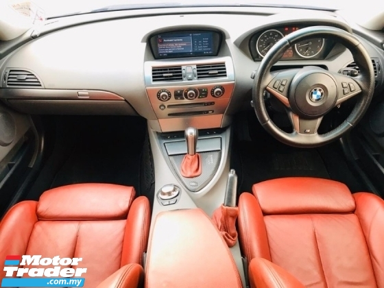 2006 BMW 6 SERIES 630Ci CBU 3.0 Ci (A) M-SPORT E63 SPORT COUPE LUMMA