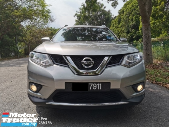 2015 NISSAN X-TRAIL 2.5L (A) CVT PREMIUM - FULL SVC RECORD / UNDER WARRANTY ( TAN CHONG )