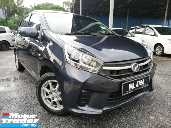 2017 PERODUA AXIA G 1.0 (A) 2 AIRBAD,ABS 1-OWNER TIP-TOP