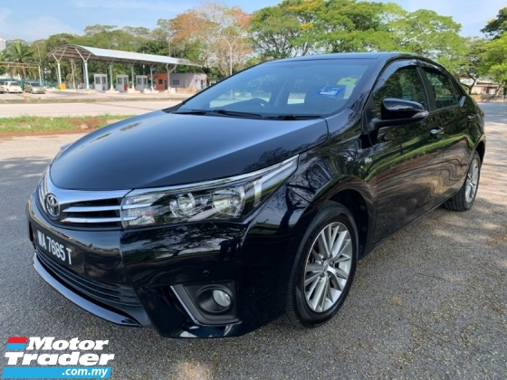 2015 TOYOTA COROLLA ALTIS 1.8 G (A) Full Service Record 1 Lady Owner Only TipTop Condition View to Confirm