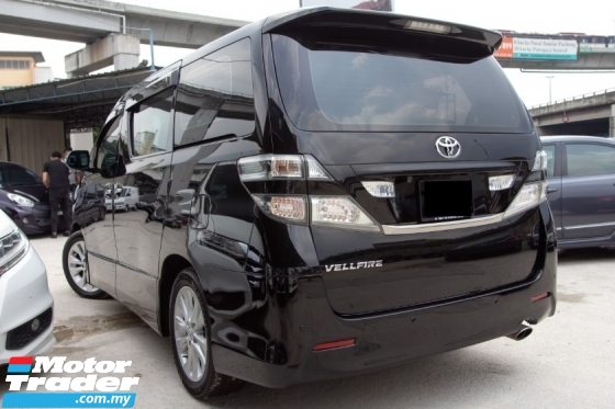 2013 TOYOTA VELLFIRE 2.4 Z PLATINUM FULL SPEC - 2 POWER DOOR - POWER BOOT - 7 SEATER - LIKE NEW CAR - NICE PLATE NUMBER - WARRANTY 1 YEAR - OFFER NAK RAYA 2020 - DEAL SAMPAI JADI