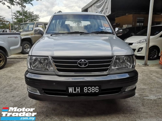 2003 TOYOTA UNSER CHINESE NEW YEAR PROMOTION Toyota UNSER 1.8 LGX (A)