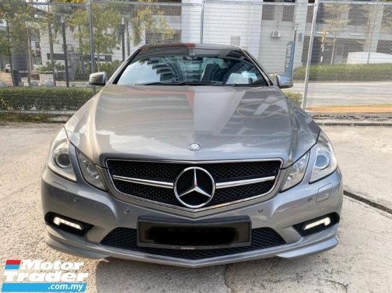 2010 MERCEDES-BENZ E-CLASS E250 CGI BLUE EFFICIENCY COUPE AMG SPORT(TRUE YEAR MAKE)(LOW MILEAGE)(ONE OWNER)(2 YEAR WARRANTY)