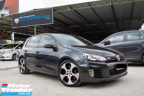 2013 VOLKSWAGEN GOLF GTI 2.0 MK6 FULL SPEC - FULL SERVICE RECORD - LIKE NEW - SUNROOF - LEATHER SEAT - WARRANTY - OFFER CNY 2020