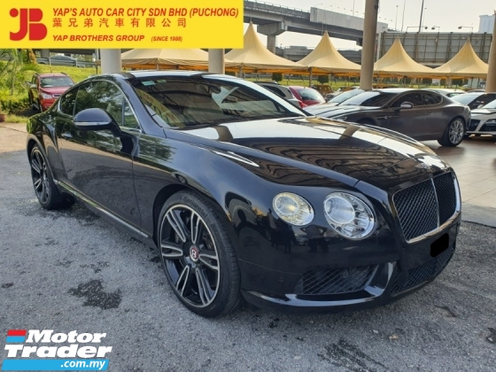 2012 BENTLEY CONTINENTAL GT 4.0 V8 Mulliner (A)