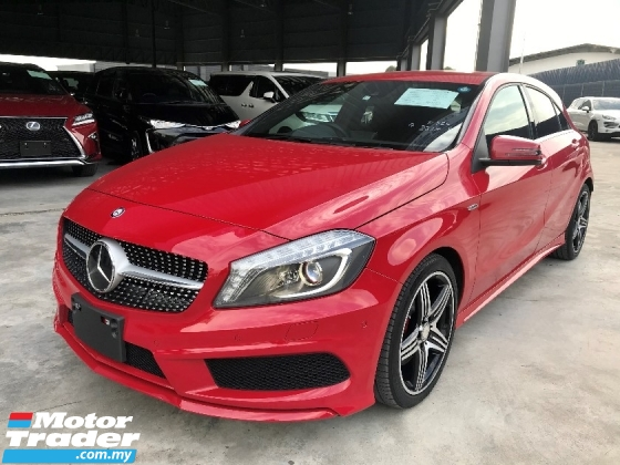 2014 MERCEDES-BENZ A-CLASS A250 AMG 4MATIC UNREGISTERED RADAR SAFETY FULL LEATHER