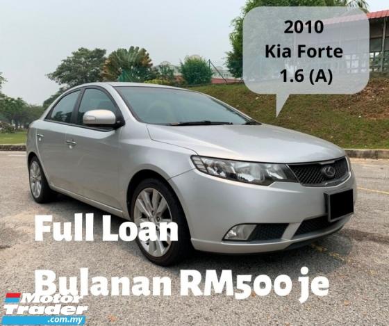 2010 KIA FORTE 1.6 SX (A) Full Spec Full Loan 1 Yrs Warranty