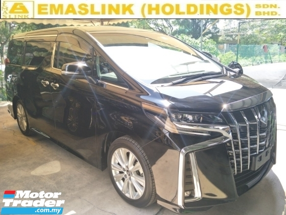2018 TOYOTA ALPHARD 2.5 SA 7 SAETER SUNROOF MOONROOF 360 SURROUND CAM POWER BOOT 2 POWER DOOR PRE CRASH STOP SYSTEM