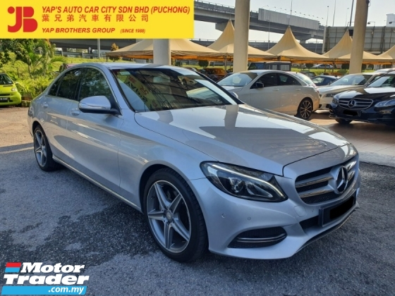 2015 MERCEDES-BENZ C-CLASS C200 Avantgarde (A) LOCAL