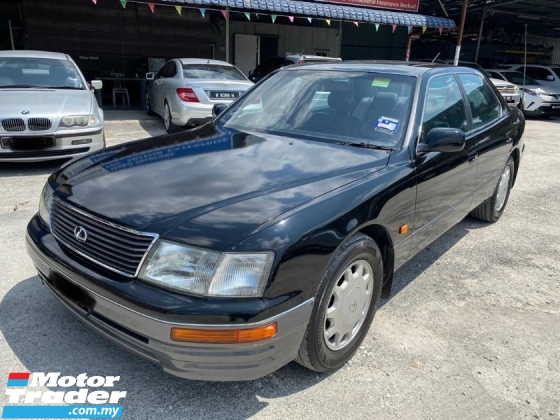1996 LEXUS LS400 VVIP TAN SRI USE SUPER TIP TOP CONDITION