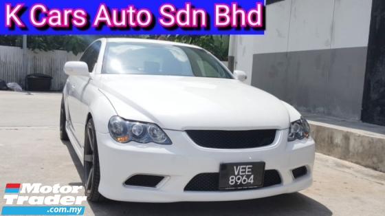 2008 TOYOTA MARK X 250G Reg 2013 (Actual Year) CBU Facelift Good Condition Zero Accident No Repair Need 19 Inch Sport Rim Worth Buy