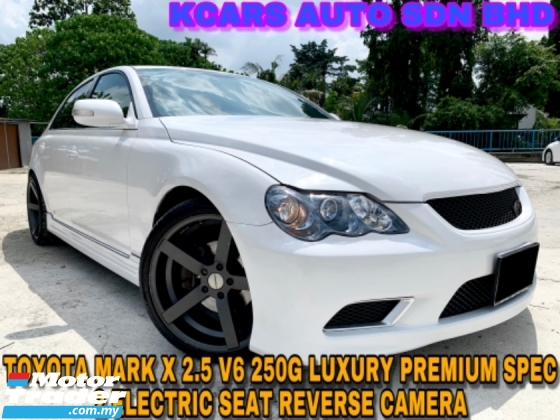 2008 TOYOTA MARK X 250G V6 ENGINE 2 ELECTRICAL SEAT