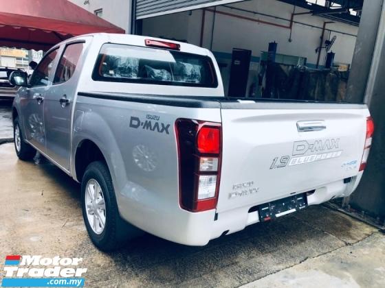 2019 Isuzu Dmax 1.9 MT 4x2 Low Ride  CBU