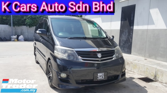 2006 TOYOTA ALPHARD 2.4 G 7 Seater MPV (Actual Year) Dual Power Door Power Sunroof Good Condition Worth Buy