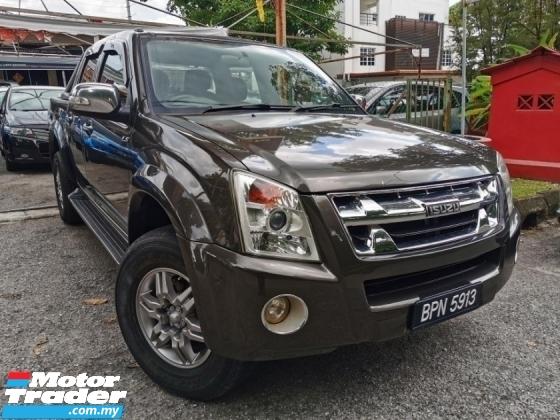 2012 ISUZU D-MAX 3.0L 4X4 DOUBLE CAB (A) 1 OWNER