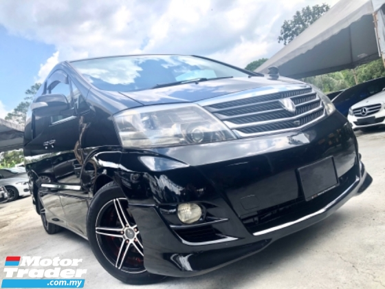 2008 TOYOTA ALPHARD 2.4 (A) 1 OWNER SUN MOON ROOF TWIN POWER DOOR