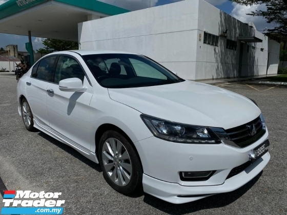 2015 HONDA ACCORD 2.0 VTI-L Sedan FULL HONDA SERVICES RECORD NUMBER FULL BODYKIT TIPTOP